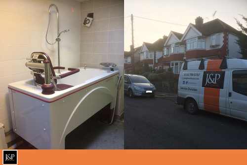 Recent Supply, Install and Commission of Specialist Bath