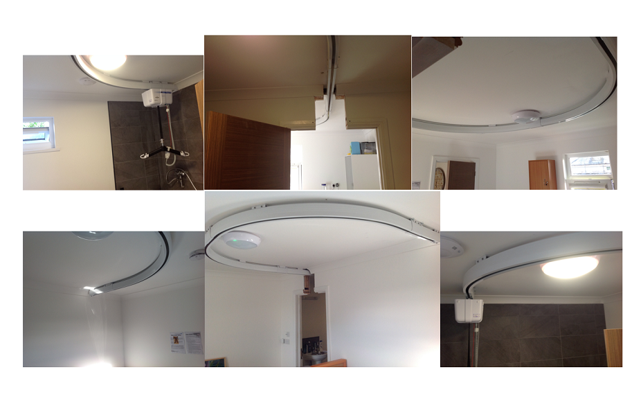 Ceiling Track Hoist Project in Care Home Complete