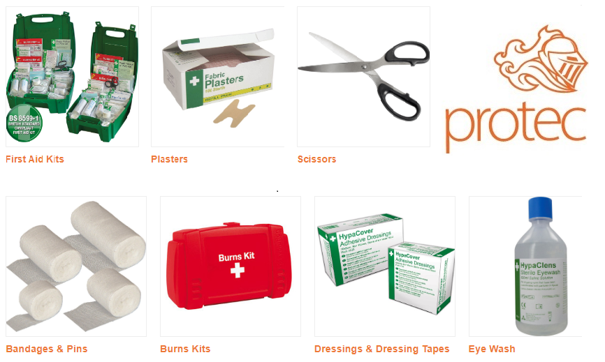 First Aid for your care home with Protec®