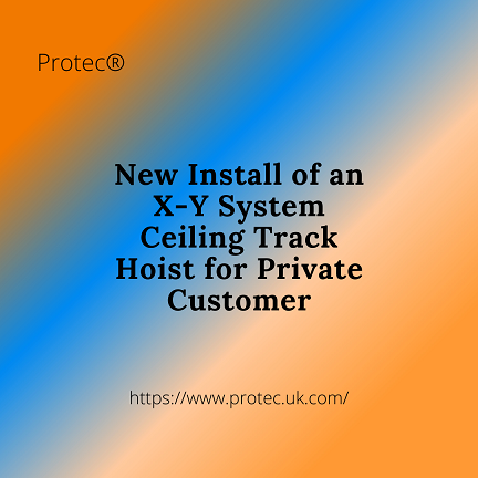 New Install - X-Y Ceiling Track Hoist for Private Customer