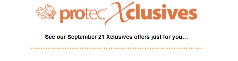 September 2021 Healthcare Xclusives now available at Protec®!